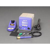 エスコ(esco) 100V/85W コントローラ付半田ごて(温度表示付) 1台 EA304AL(直送品)