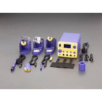 エスコ(esco) AC100V/410W コントローラ付半田ごて(温度表示付) 1個 EA304AN(直送品)