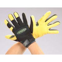エスコ(esco) [L] 手袋(鹿革) 1セット(2双) EA353BA-62(直送品)