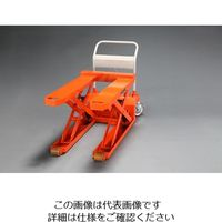 エスコ(esco) 685x1080mm/1000kgテーブルリフト(低床) 1台 EA520XD-2(直送品)