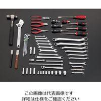 エスコ(esco) [62個組] ツールワゴン付工具セット 1セット EA612SC-61(直送品)