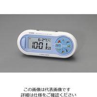エスコ 82x195x112mm[電波]置時計(デジタル) EA798CA-142 1個 (直送品)