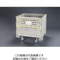 エスコ(esco) 1030x840x988mm/500kg メッシュパレット(キャスター付) 1台 EA985R-12(直送品)