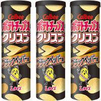 カルビー ポテトチップスクリスプブラックペッパー味 115g 1セット( 3個)