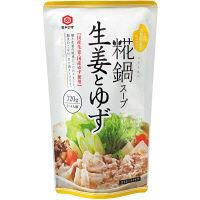 宮島醤油 糀鍋スープ 生姜とゆず 720g
