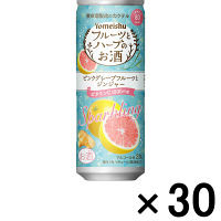 養命酒製造 フルーツとハーブのお酒 スパークリング ピンクグレープフルーツとジンジャー 250ml×30本