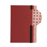 日本製墨書遊 背表紙のついたごしゅいんちょう 艶紅 STGS-1803(直送品)
