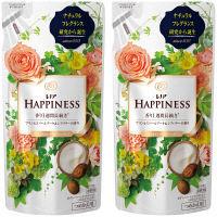 レノアハピネス ナチュラルフレグランス プリンセスパールブーケ&シアバターの香り 詰め替え 400ml 1セット(2個入) 柔軟剤 P&G