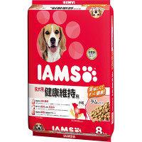 """IAMS(アイムス)犬用 成犬用 健康維持 ラム&ライス 小粒 8kg 1袋 マースジャパン"""