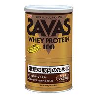SAVAS(ザバス) ホエイプロテイン100 リッチショコラ 18食分 1袋 明治