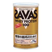 SAVAS(ザバス) ホエイプロテイン100 香るミルク 18食分 1袋 明治