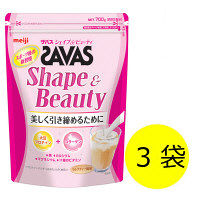 SAVAS(ザバス) シェイプ&ビューティ 50食分 1セット(3袋) 明治