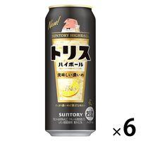 サントリー トリスハイボール缶 キリッと濃いめ 500ml×6缶