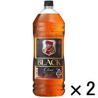 ブラックニッカクリア(BLACK NIKKA Clear) ペットボトル 4.0L 1セット(2本)