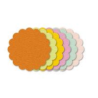 ササガワ ぷちカード レース 大 16-7033 60枚(12枚:6色各2枚袋入×5冊) (取寄品)