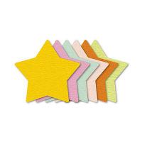 ササガワ ぷちカード ホシ 大 16-7034 60枚(12枚:6色各2枚袋入×5冊) (取寄品)