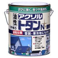 ニッペホームプロダクツ アクリルトタンN屋根用 2kg 青 4976124129131(直送品)