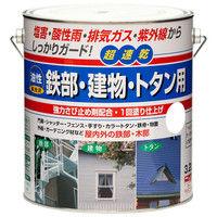 ニッペホームプロダクツ 油性 鉄部・建物・トタン用 3.2L こげ茶 4976124216541 (直送品)