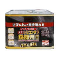 ニッペホームプロダクツ 油性シリコンタフ 7L ブラックチョコレート 4976124218552(直送品)