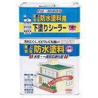 ニッペホームプロダクツ 水性屋上防水塗料セット 17kg グレー 4976124246159(直送品)