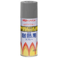 ニッペホームプロダクツ 耐熱用スプレー 300ml グレー 4976124310409 1セット(6本入)(直送品)