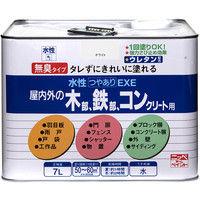 ニッペホームプロダクツ 水性つやありEXE 7L ブラックチョコレート 4976124421143(直送品)