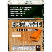 ニッペホームプロダクツ 油性木部保護塗料 3L クリヤー 4976124519499 (直送品)