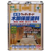 ニッペホームプロダクツ 水性ウッディガード 3.2L マホガニ 4976124532467(直送品)