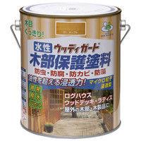 ニッペホームプロダクツ 水性ウッディガード 1.6L チャコールブラック 4976124533150 (直送品)