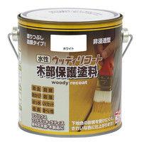 ニッペホームプロダクツ 水性ウッディリコート 0.7L ホワイト 4976124548970 1セット(4個入)(直送品)