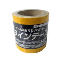 ニッペホームプロダクツ ラインテープ 100mm×5m 黄 4976124880711 (直送品)