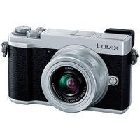 パナソニック デジタル一眼カメラ LUMIX GX7 Mark III 標準ズームレンズキット (シルバー) DC-GX7MK3K-S 1台  (直送品)