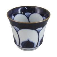 石丸陶芸 波佐見焼 梅濃 煎茶碗 1セット(5個)(直送品)