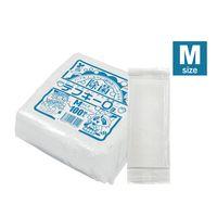 アステップ 長期保存 不織布オシボリ テフキーO3(Mサイズ) 100枚/パック 322(直送品)