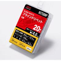 エビ ブラインドリベット(丸頭) エコパック入り NST58MP 1箱(20本入) ロブテックス(取寄品)