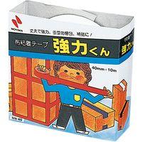 ニチバン 布粘着テープ 強力くん 白 NN-405 10個(直送品)
