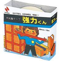 ニチバン 布粘着テープ 強力くん 黄土 NN-407 10個(直送品)