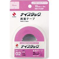 ニチバン ナイスタック両面テープ耐水タイプ小巻 NW-H15SF 10個(直送品)