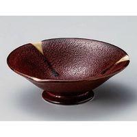 アースモス 美濃焼 小鉢 紅柚子4.3高台鉢 (3個入)(直送品)