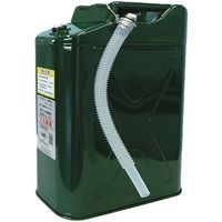 田巻製作所 ガソリン携行缶縦型 18L 緑 TS-T18(直送品)