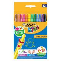 のびーるクレヨン BICKIDS 12色