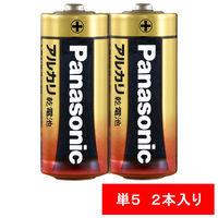 パナソニック アルカリ乾電池 単5形 1パック(2本入)の画像