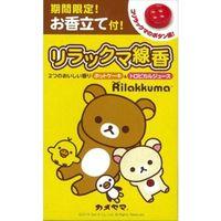 カメヤマ リラックマ線香 2つのおいしい香り 4901435209104 1セット(5個)(直送品)