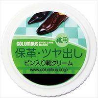 コロンブス コロンブスベーシックビン入り靴クリームコイチャ 4971671172555 1セット(12個)(直送品)