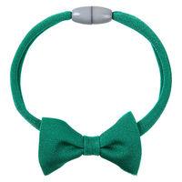 necono 猫用 ルーチェ リボン バジルグリーン 首輪 おしゃれ かわいい 1個