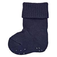 無印良品 足なり直角 足のサイズに合わせてくれる裏パイル厚手靴下 ベビー 11~15cm ネイビー 良品計画