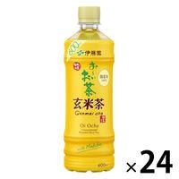 伊藤園 おーいお茶 玄米茶 炒りたての香り 525ml 1箱(24本入)