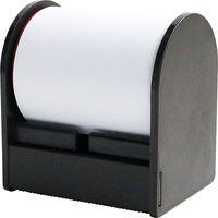 プリントインフォームジャパン ロルフ シングル 50mm×10m ホワイト [ディスペンサー:ブラウン] 12041010-0540 1セット(3個)(直送品)