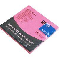 プリントインフォームジャパン info notes ブリリアントノート 75×75mm ピンク 5654-32 1パック(12冊入)(直送品)