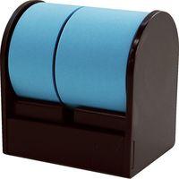 プリントインフォームジャパン ロルフ ダブル 20&30mm×10m ブルー [ディスペンサー:ブラウン] 905-1061-005 1セット(3個)(直送品)